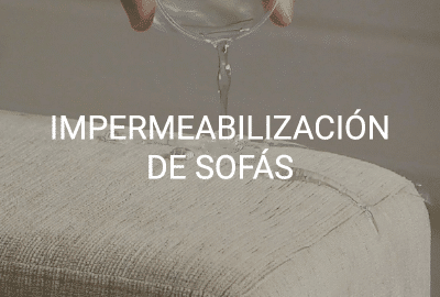 servicio impermeabilizacion sofas