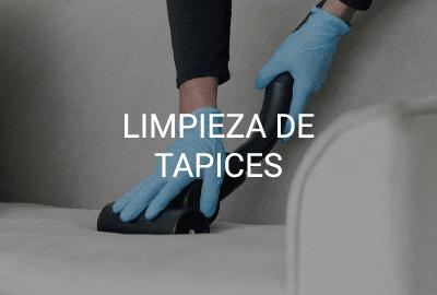 servicio limpieza tapices